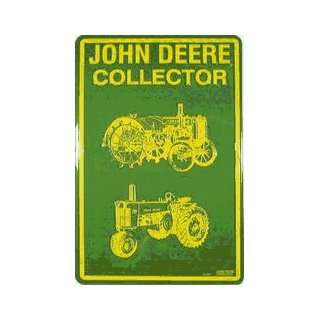 John Deere 60021 JD Collector Metal Parking Sign: Home & Kitchen