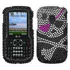 Bubble Crystal Diamond BLING Hard Case Phone Cover for Tracfone Net10
