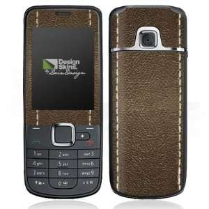Design Skins for Nokia 2710   Brown Leather Design Folie