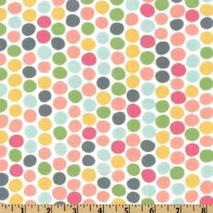 44 Wide Moda Hullabaloo Polka Dot Pastel Fabric By The