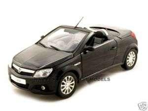 OPEL TIGRA TWIN TOP CABRIO BLACK 1:18 NOREV DIECAST CAR