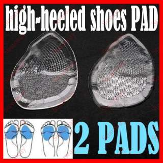 Cushion High Heel Insoles Anti Slip Shoe Front Pads Feet Care
