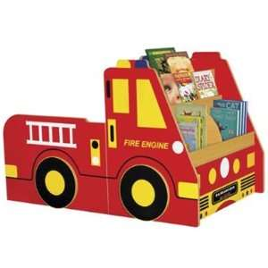 Fire Engine Book Storage Center (3 Piece) by Early Childhood Resources