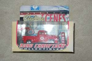 CLASSIC SCENES 1956 FORD DIE CAST F100 TRUCK   TEXACO
