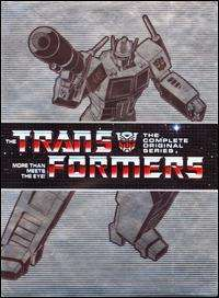 TRANSFORMERS animated  THE COMPLETE SERIES (DVD)15 disc