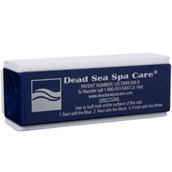 Dead Sea Spa Care Professional Nail Buffer (Pack of 4)