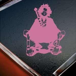 SAMURAI CHAMPLOO Pink Decal MUGEN Truck Window Pink