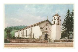 San Buenaventura Mission, California Posters at AllPosters