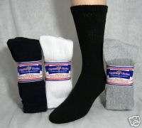 Mens Diabetic Socks Assorted Colors, size 13 15, 12 PR
