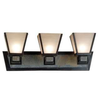Kenroy Home Clean Slate Vanity Light in Oil Rubbed