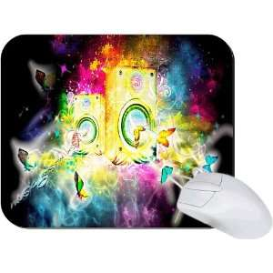 Rikki Knight Magical Music Speakers Mouse Pad Mousepad