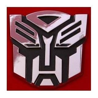 Transformers Autobots Logo 3D Car Hood Ornament / Decal
