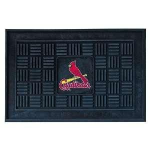 MLB St. Louis Cardinals Baseball Medallion Door Mat 19 X