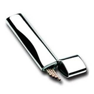 Pocketpics stainless steel pocket toothpick holder - Stainless steel toothpick holder ...