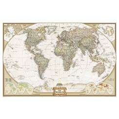 WORLD WALL MAPS POSTERS MURALS   by NATIONAL GEOGRAPHIC