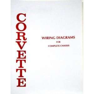 1969 Corvette Wiring Diagram Book: Automotive