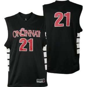 Cincinnati Bearcats Black Replica Basketball Jersey by