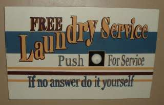 LAUNDRY WOOD WALL PLAQUE~ART SIGN~LAUNDRY SERVICE