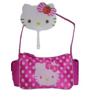 Hello Kitty Pink Side Pockets Shoulder Bag Free Fan Toys & Games