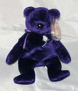 Princess Diana Bear Beanie Baby Collectors Item 1997 1st Version