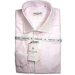 Guy Laroche Mens Pink Dress Shirt