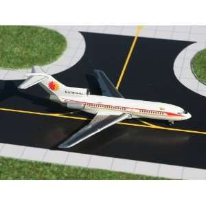 Gemini Jets National Airlines B727 100 Model Airplane