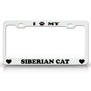 I PAW MY SIBERIAN Cat Pet Animal High Quality STEEL /METAL