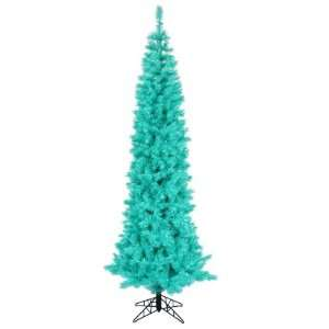 ft. Artificial Christmas Tree   Classic PVC Needles   Turquoise