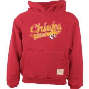 Reebok Kansas City Chiefs Swept Away Girls 7 16 Hooded Fleece