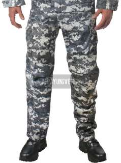 Subdued Urban Digital Camouflage Military BDU Cargo Fatigue Pants
