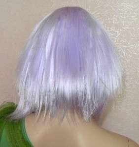 Cosplay Light Purple Fancy Dress Party Halloween Costume Wigs FF228