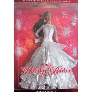 HOLIDAY BARBIE Doll AA 2008 COLLECTOR Edition Celebrating
