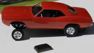 MODEL KIT PLYMOUTH CUDA BARRACUDA SOX MARTIN FUNNY CAR 72 MOPAR