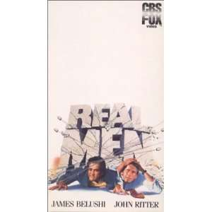 Real Men [VHS]: James Belushi, John Ritter, Barbara Barrie