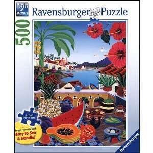 Taste of Paradise Large Format 500 Piece Puzzle Toys & Games