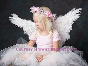 Petites Butterfly fairy parrot swan angel dove costume feather wings