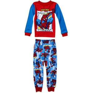 Man   Infant Boys Spider Man 2 Piece Cotton Pajamas Set Clothing