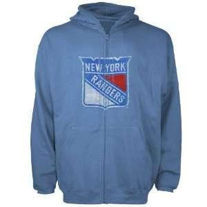 Reebok New York Rangers Blue Better Logo Distressed Full