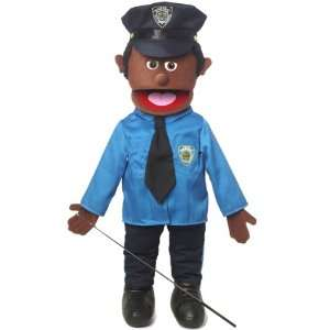 Policeman, 25In Ethnic Full Body Puppet, African  Affordable Gift