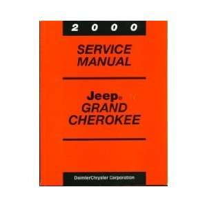 2000 Jeep Cherokee Service Manual (Including Body, Chassis