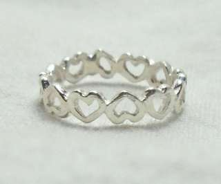 sterling silver great 1st ring or addition to collection continues