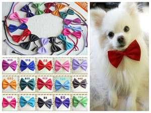 Cute Pet Dog Cat bowtie Necktie clothes Random Color