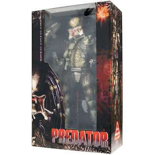 Predator Unmasked Open Mouth Predator Action Figure 1/4 Scale  Toys