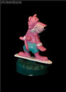 Hanna Barbera   1990 Wendys Snagglepuss Fast Food Toy Glider Figure