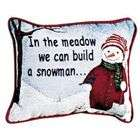 Set of 2 Three Wise Men Decorative Christmas Throw Pillows 9 x 12