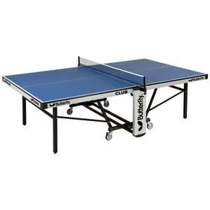 Butterfly Club Rollaway Table Tennis Table Game Room
