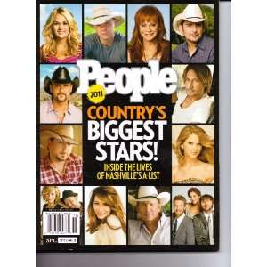 Countrys Biggest Stars (People magazine). Inside The