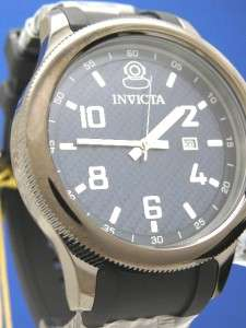 Invicta Russian Diver Watch  All Black/Blue Carbon Fiber Dial (54401