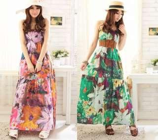 NEW Evening/Cocktail Women Sexy Summer Long Maxi Dress Size M L 3