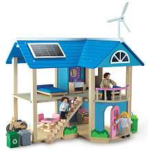 Eco Friendly Wooden Eco House   Wonderworld   Toys R Us